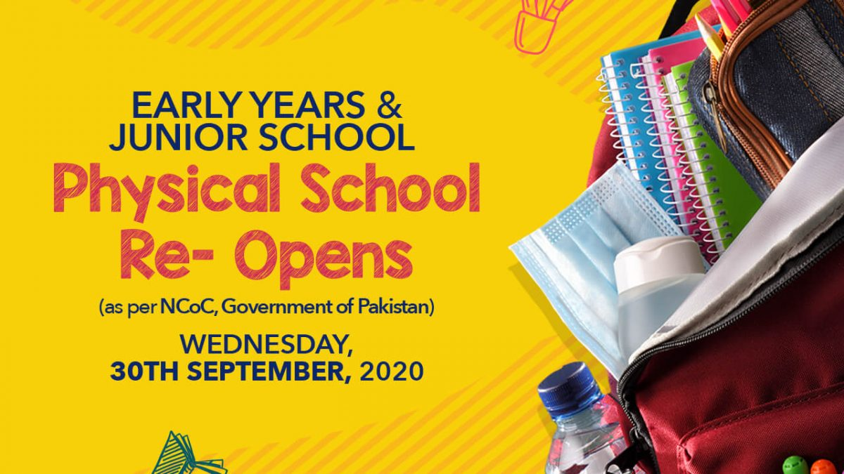 Physical School Re-Open